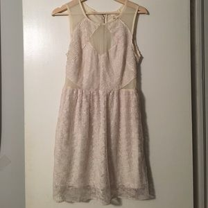 Brand new urban outfitters cream lace dress
